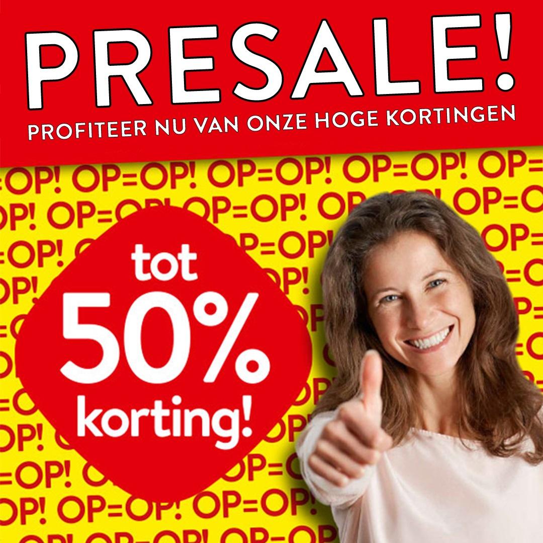 De presale is gestart bij Profijt Meubel Hoorn