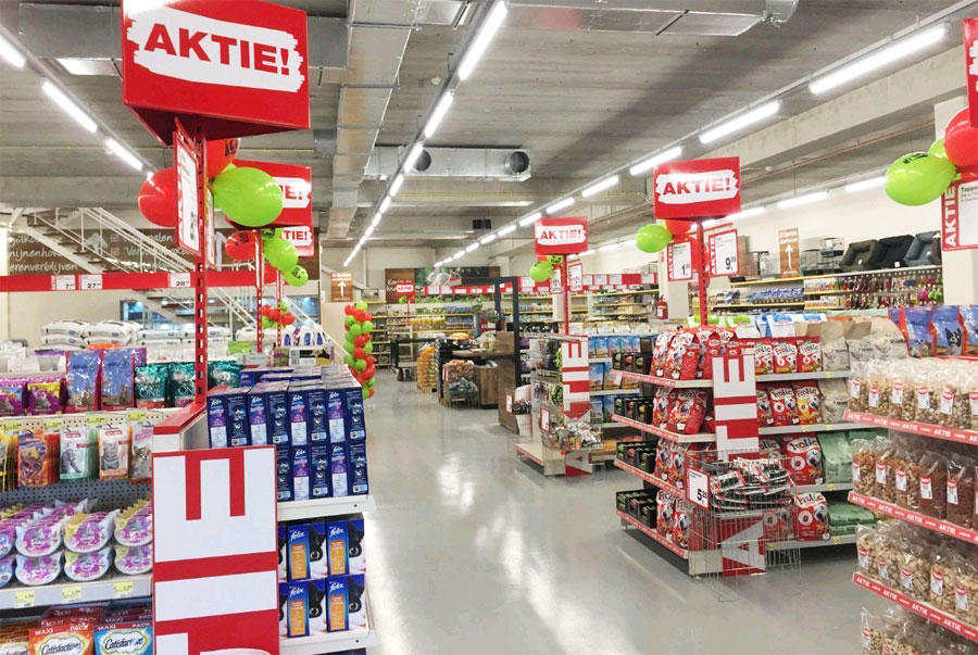 Jumper;  De supermarkt voor dieren