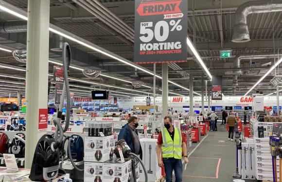 Mediamarkt Hoorn; Black Friday weekend bij Mediamarkt