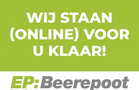 EP:Beerepoot staat (online) voor u klaar!